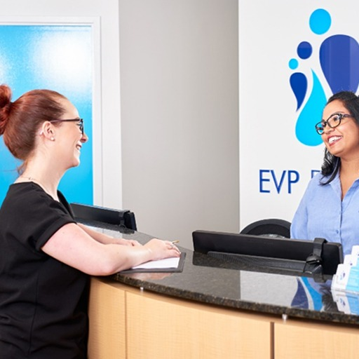 Book an appointment for gum disease at EVP Dental