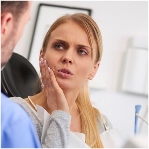 Signs of Bruxism and Clenching