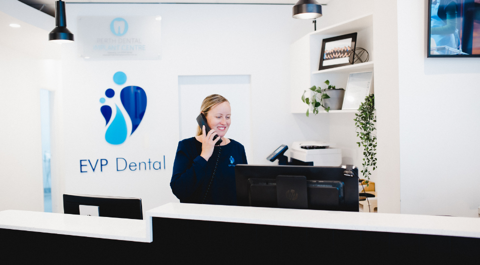 Book an emergency appointment at EVP Dental